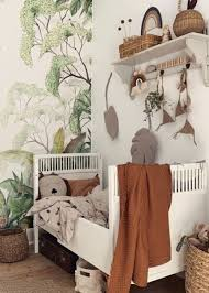 17 Nature Inspired Wallpaper Ideas For Kids Rooms Nursery Design Studio