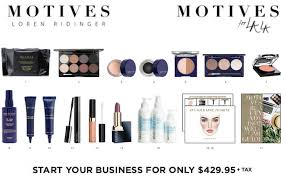 start up costs for a motives cosmetics