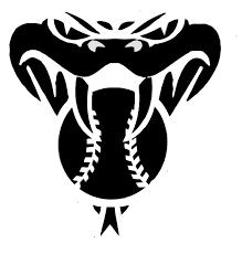 Arizona Diamondbacks Die Cut Vinyl Graphic Decal Snake Sticker Mlb