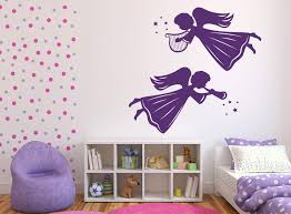 Vinyl Decal Angels And Saints Decor Wall Stickers Angels Winged Beings Wallstickers4you