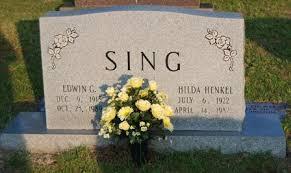 Hilda Wood Henkel Sing (1922-1982) - Find A Grave Memorial