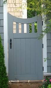 Reverse Arch Gate Garden Gates And Fencing Garden Gate Design Wood Gate