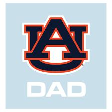 Aub Auburn Dad 5 Decal Alumni Hall