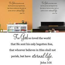 The Lords Prayer Wall Sticker Vinyl Decals Art Home Decor Lettering Bible Verse