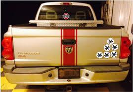 30 Osu Ohio State Buckeye 2 Gray Green Leaf Helmet Sticker Car Decal Gift 1806871964