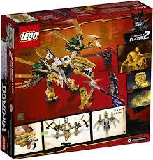 Amazon.com: LEGO NINJAGO Legacy Golden Dragon 70666 Building Kit ...