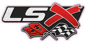Lsx W Flags Large Decal 11 X 6 Ebay