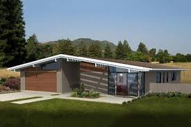 modern style house plan 3 beds 2