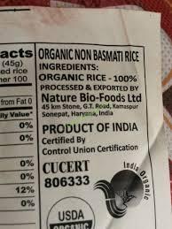 organic sona masoori rice 20 pound bag