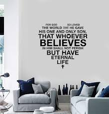 Vinyl Wall Decal Bible Scripture Heart Christian Religious Home Decoration Wall Sticker Living Room Bedroom Wall Sticker 2sj28 Wallcorners Art Canvas