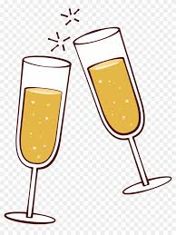 wine glass clip art champagne cheers