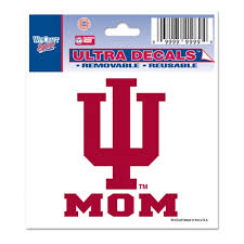 Indiana Iu Mom Ultra Decal From Wincraft