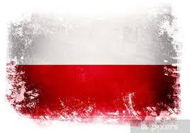 Fototapeta Polska flaga • Pixers® - Żyjemy by zmieniać