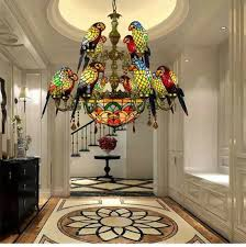 stained glass pendant chandeliers