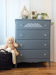 Diy Dresser Makeover Use Your Cricut To Make A Furniture Decal Simply Chic Treasures
