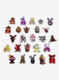 Five Nights At Freddy S Blind Sticker Pack