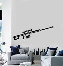 Military And Patriotic Wall Vinyl Decal Tagged Weapons Sticker Wallstickers4you