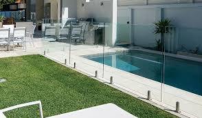 diy glass pool fencing barade