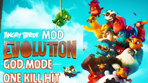 Angry Birds Evolution Mod God Mode, One Kill Hit
