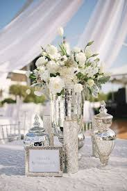 picture of mercury glass vases and jars