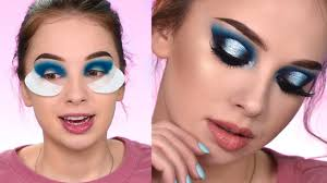 dramatic makeup looks for blue eyes