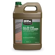 Exterior All In One Wood Cleaner Stripper Behr Premium Behr