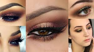 3 makeup tutorials for brown e s