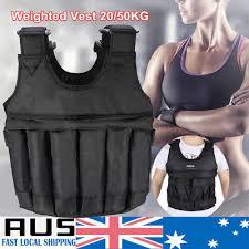 20kg 50kg weighted vest adjule