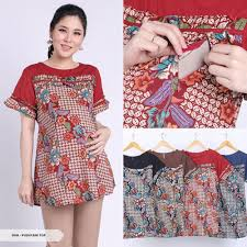 10 inspirasi busana jill biden, ibu negara as yang gayanya fashionable. Baju Batik Casual Ukuran Besar Blouse Big Size Untuk Ibu Hamil Dan Menyusui Blouse Atasan Batik Can Shopee Indonesia