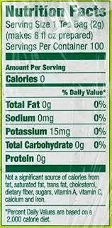 lipton green tea the benefits and