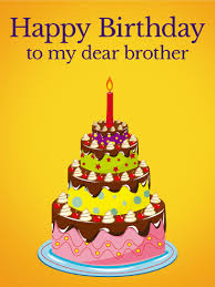 birthday cake cards for brother
