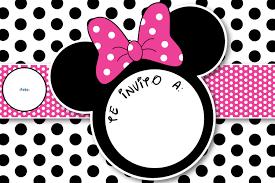 Todo Para Una Fiesta Con Tema De Minnie Mimi Como Le