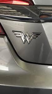 Wonder Woman Logo Chrome Car Decal Wonder Woman Logo Female Trucks Chrome Cars