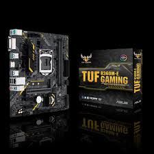 tuf b360m e gaming motherboards