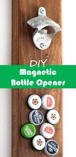 how to make a magnetic bottle opener