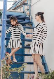 Những set đồ đẹp cho mẹ và bé gái diện tết 2020 » Thời trang Eva