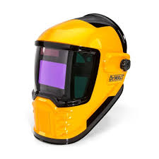 wide view auto darkening welding helmet