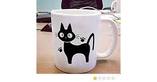 Jiji The Cat Mug Studio Ghibli Mug Cat Lover Mug White Ceramic Coffee Mug Cup
