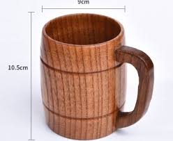 china reusable modern wooden coffee cup