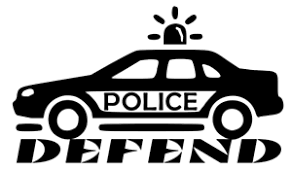 Defend Police Decal Sticker For Tumblers Cups Cars Windows Walls Computers Ebay
