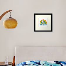 Puffin Rock Logo Framed Art Print By Puffinrock Redbubble