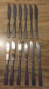 64 pieces wallace stainless flatware