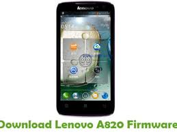Download Lenovo A820 Firmware - Android ...