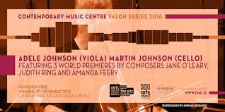 The Contemporary Music Centre Salon Series 2016: Martin Johnson ...