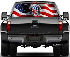 Pickup Truck Decal Rear Window Truck Decal Harley Davidson Pickup Decal Vehicle Window Sticker Joker Decal Harley Davidson Decal