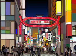 red light district shinjuku kabukicho