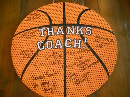gifts for a basketball coach