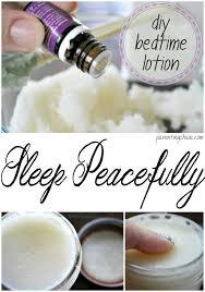 homemade bedtime lotion