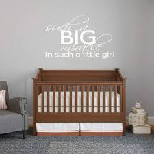 Such A Big Miracle Such A Little Girl Wall Decal Baby Nursery Girls Room For Sale Online