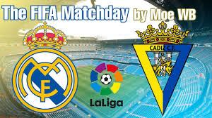 Real Madrid vs Cadiz FC 17/10/2020 La Liga - YouTube